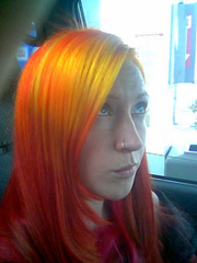 Special Effects Hair Dye Napalm Orange Pictures And Reviews