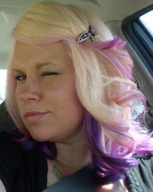 hair dye underneath