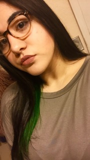 I Used Manic Panic Raven Anda Special Effects Iguana Green Mixed A Lot Of And Little Bit To Create Dark