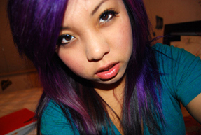Splat Lusty Lavender On Unbleached Hair