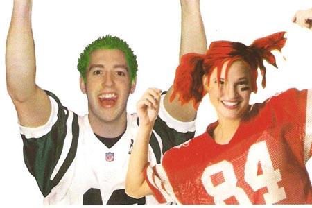 Team Colors Hair Color Spray